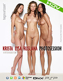 Krista Lysa Ruslana Photosession