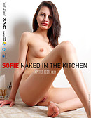 Sofie Naked in The Kitchen