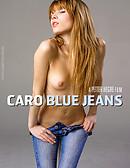 Caro Un jean bleu