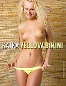 Katka - Yellow bikini