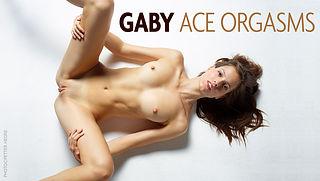 A model orgasm