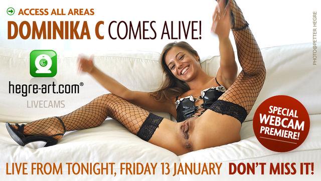 ¡Dominika C en tu webcam!