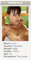 Lynn - Our newest Mauritian find