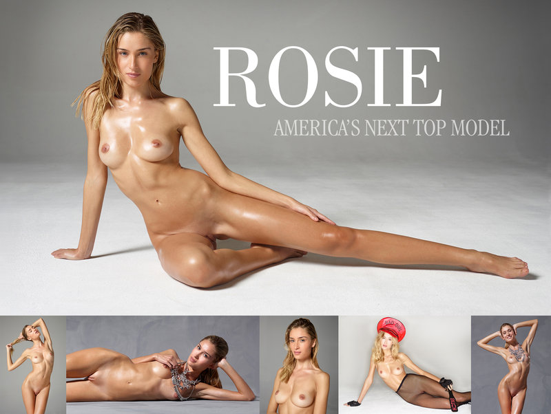 Star model poses naked for you