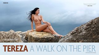 Tereza A Walk On The  Pier
