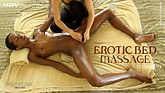 Massage lit érotique