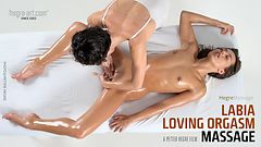 Labia Loving Orgasm Massage