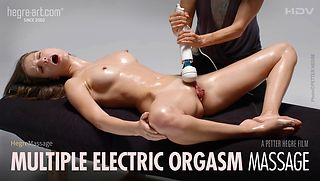 Multiple Electric Orgasm Massage