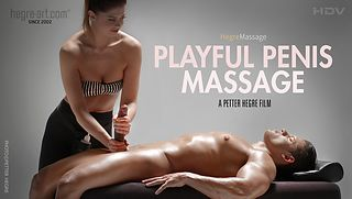 Playful Penis Massage