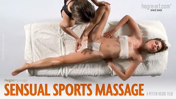 Sensual Sports Massage