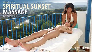 Spiritual Sunset Massage