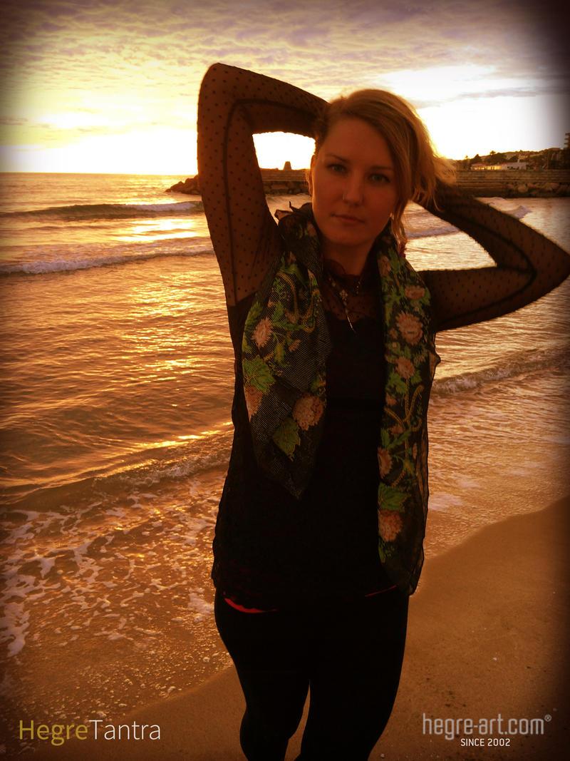 A woman is like an ocean